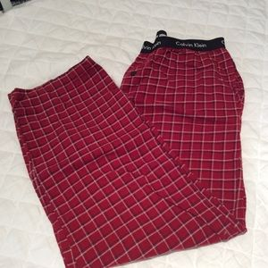 Men's Calvin  Klein PJ's pants